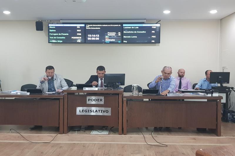 1ª Sessão Ordinária de 2018